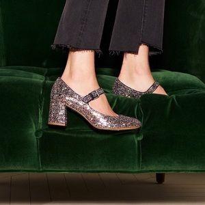 Madewell Zelda Mary Jane in Glitter
